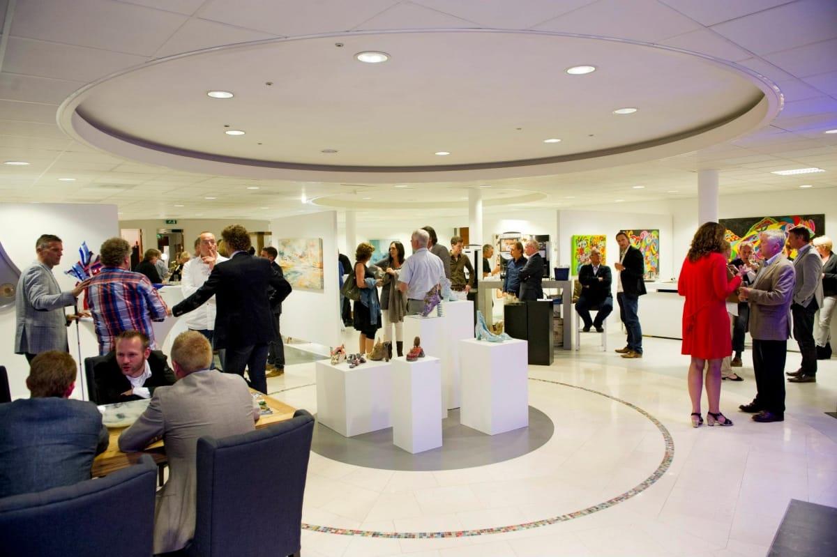 Businessclub Ondernamen Bijeenkomst in de galerie
