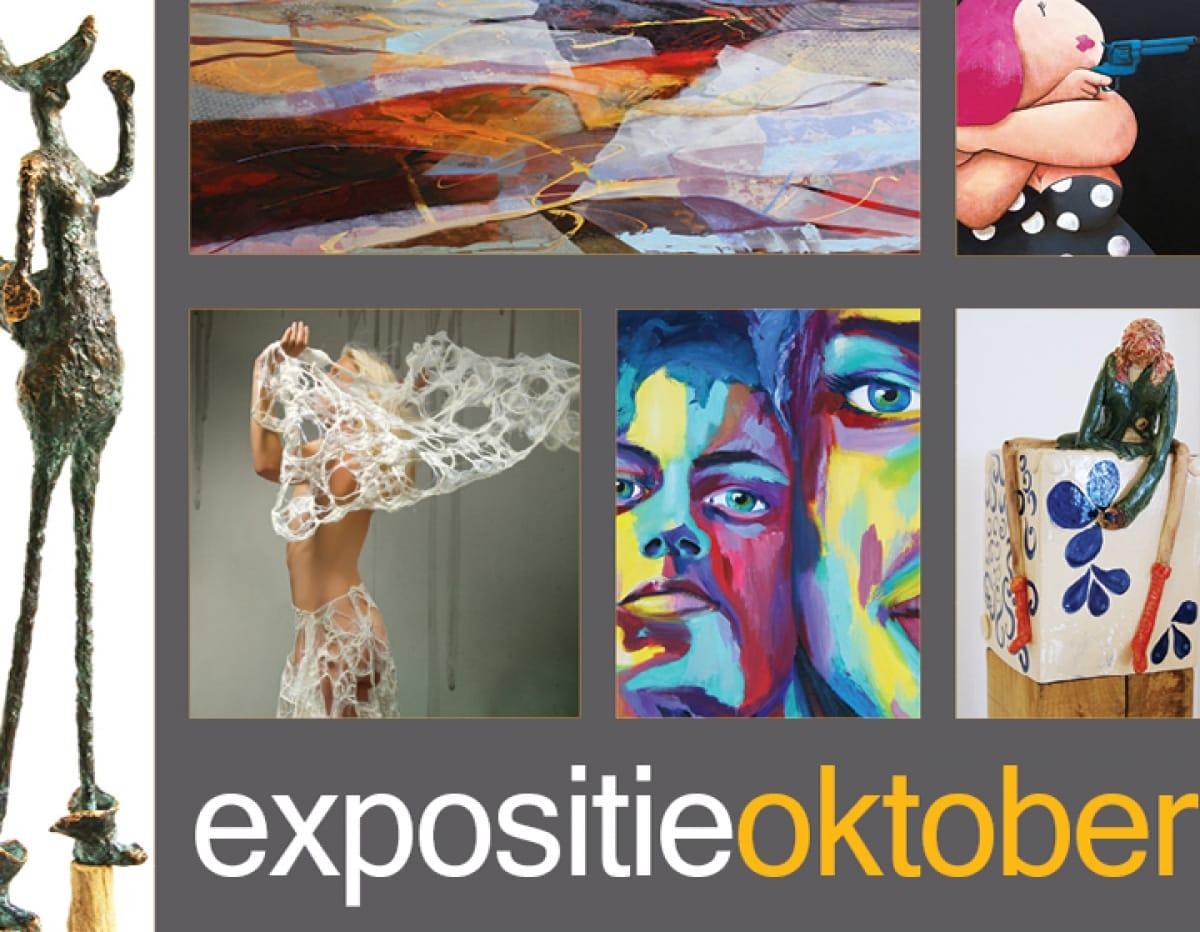 """EXPOSITIE """"de OKTOBERMAAND 2012"""
