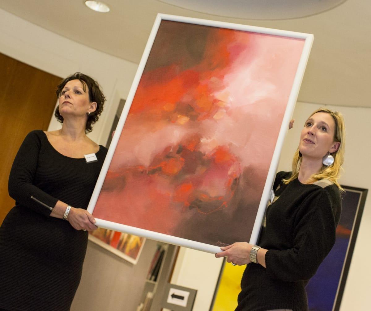 Expositie en veiling bij Galerie Sille, € 15.000,- voor KiKa!