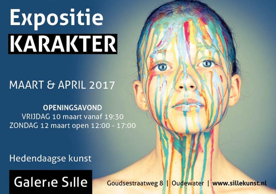 Expositie KARAKTER maart & april 2017