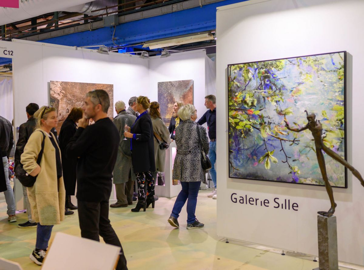 Galerie Sille Affordable Art Fair 2019 in Amsterdam