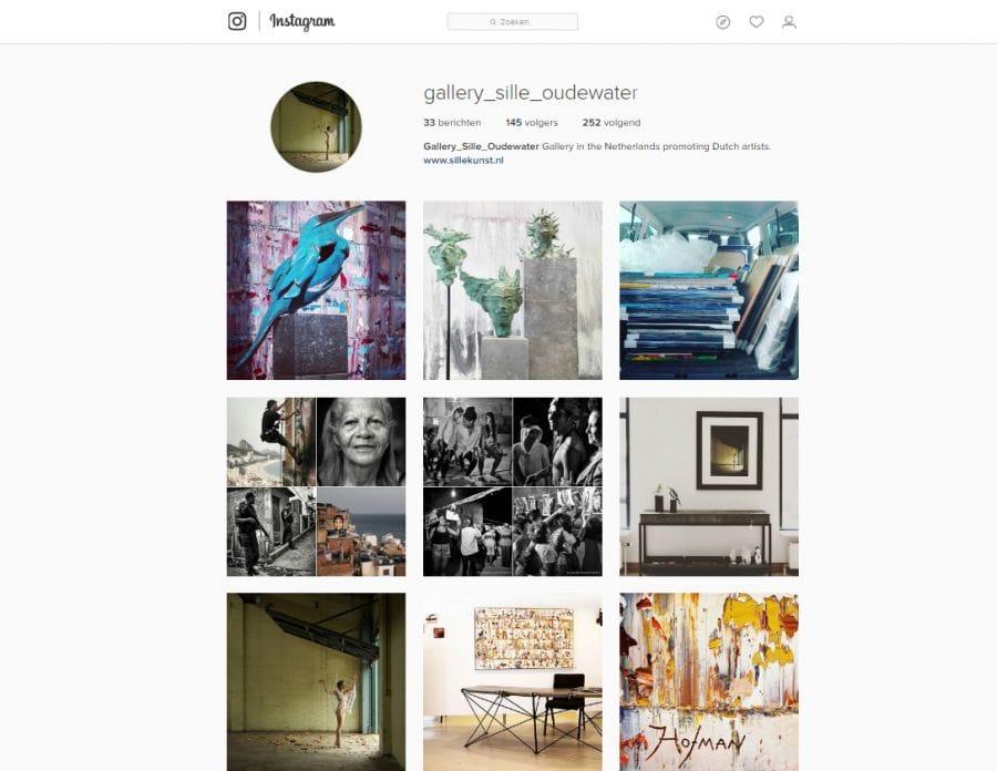 Galerie Sille op Instagram