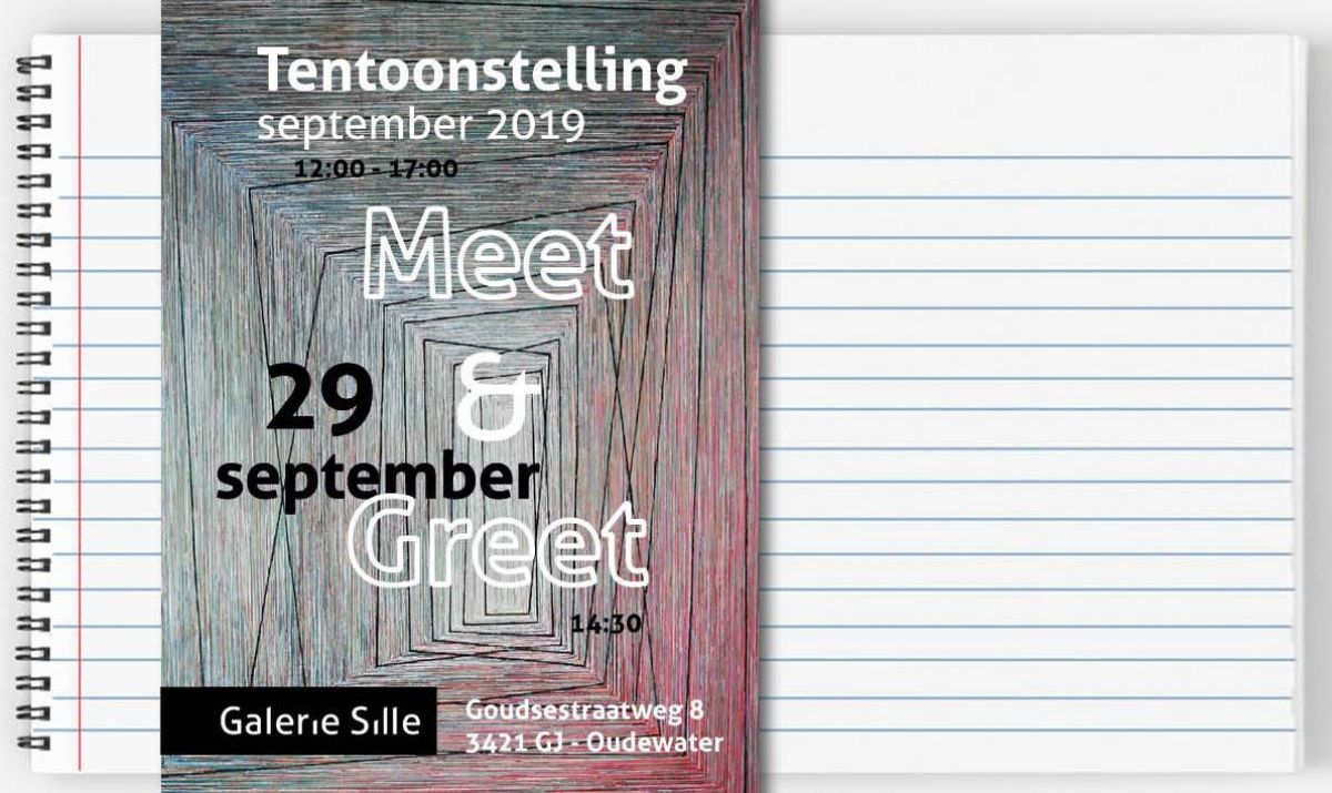 Heden tentoonstelling september + Meet & Greet 29 september