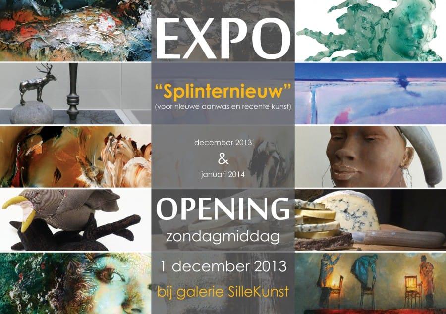 """Expositie """"Splinternieuw"""" vanaf 1 december 2013"""