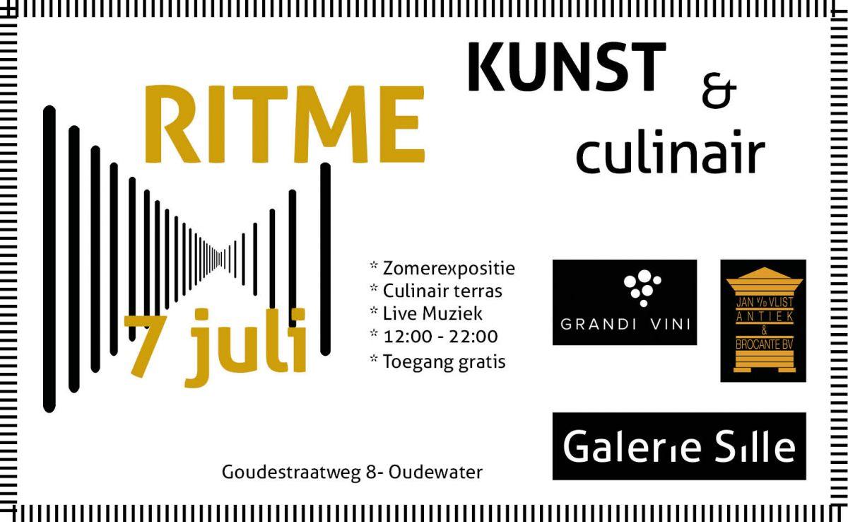 Zomerexpositie 'RITME' en Kunst & Culinair 2018